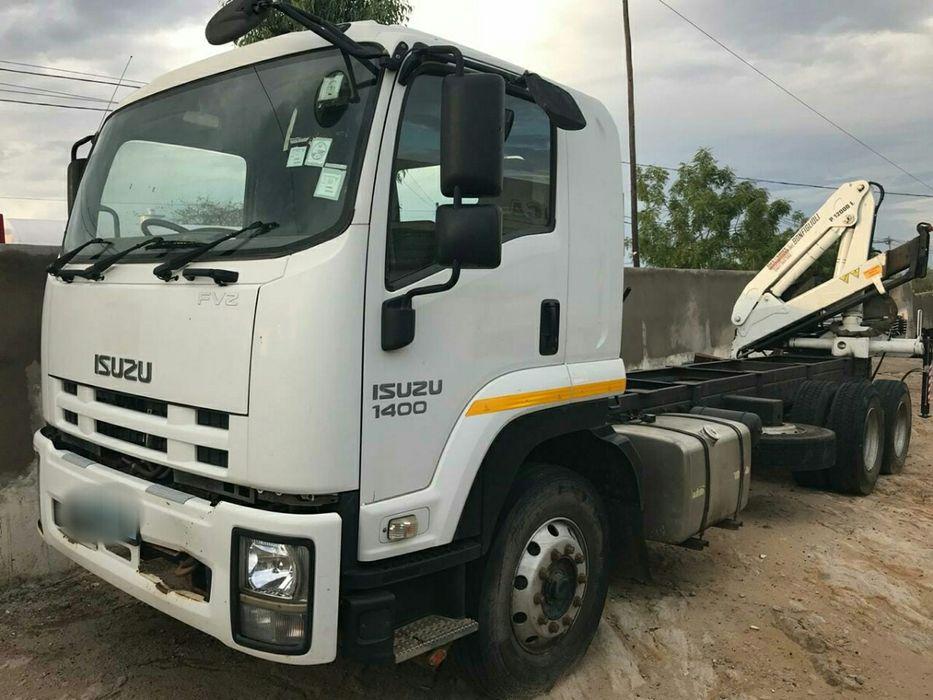 Vendo Camião Isuzu FVZ porta contentores, 20 toneladas