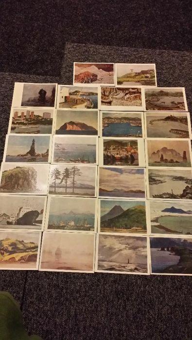 Продавам стари руски пощенски картички
