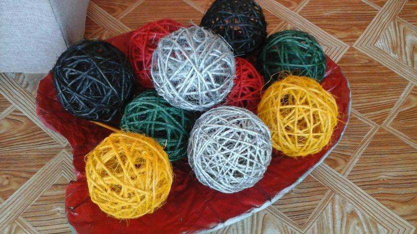 Bolas para decoração