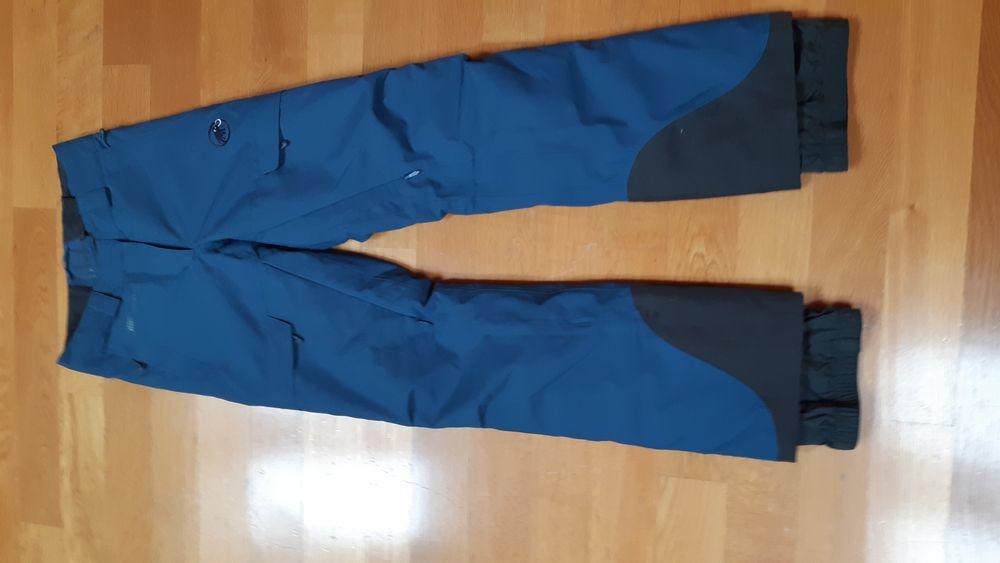 Pantaloni ski/tura dama Mammut S/xs noi