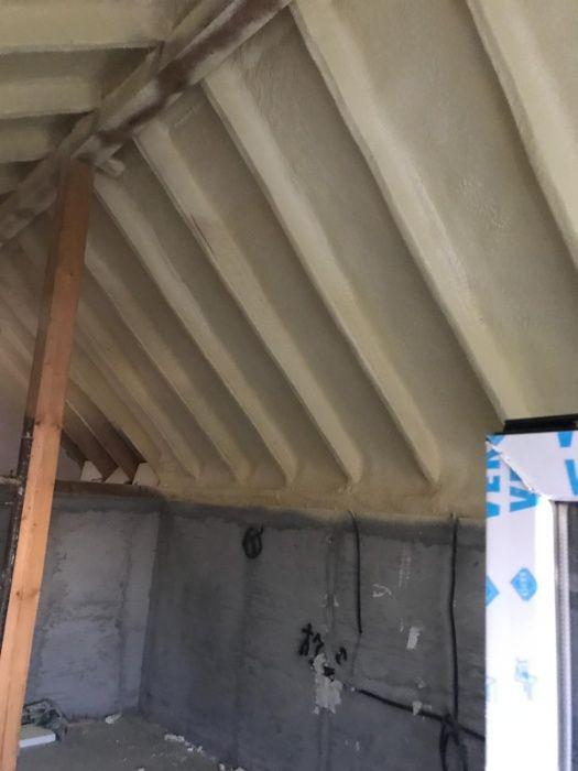 Izolare termica cu spuma poliuretanica