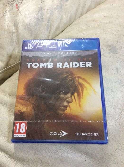 Jogo Shadow ou the tomb Raiders (croft edition) *NOVO*