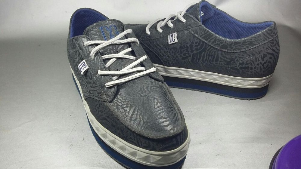 Dc shoes nr 37,5 girl original adidasi platforma