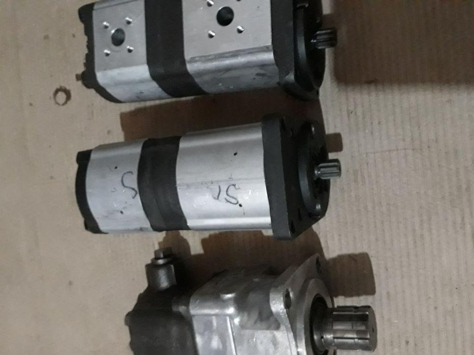 Pompe hidraulice duble si basculare
