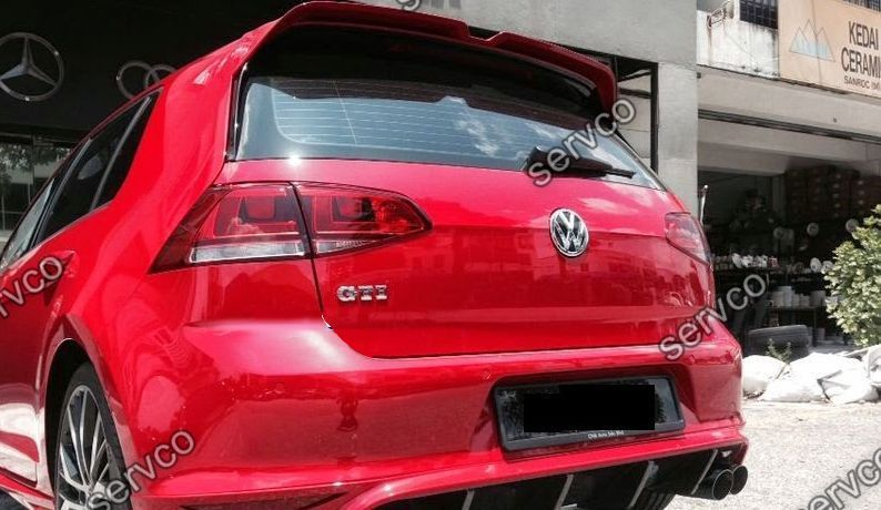 Eleron haion tuning sport Volkswagen Vw Golf 7 HB GTi GTD GT ver2