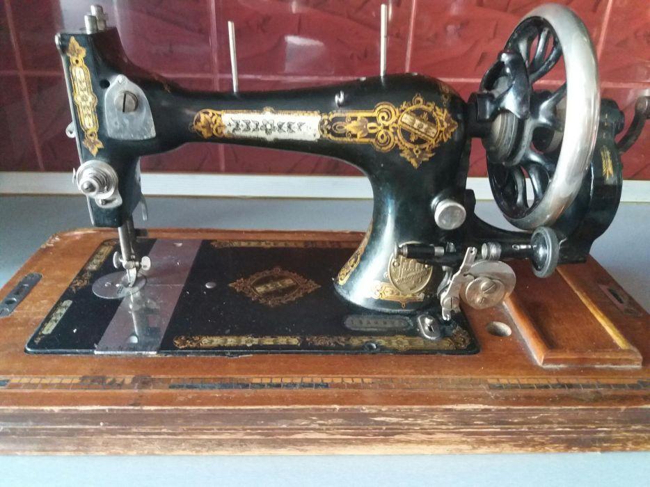 Masina de cusut J. Silberberg 1850-1915
