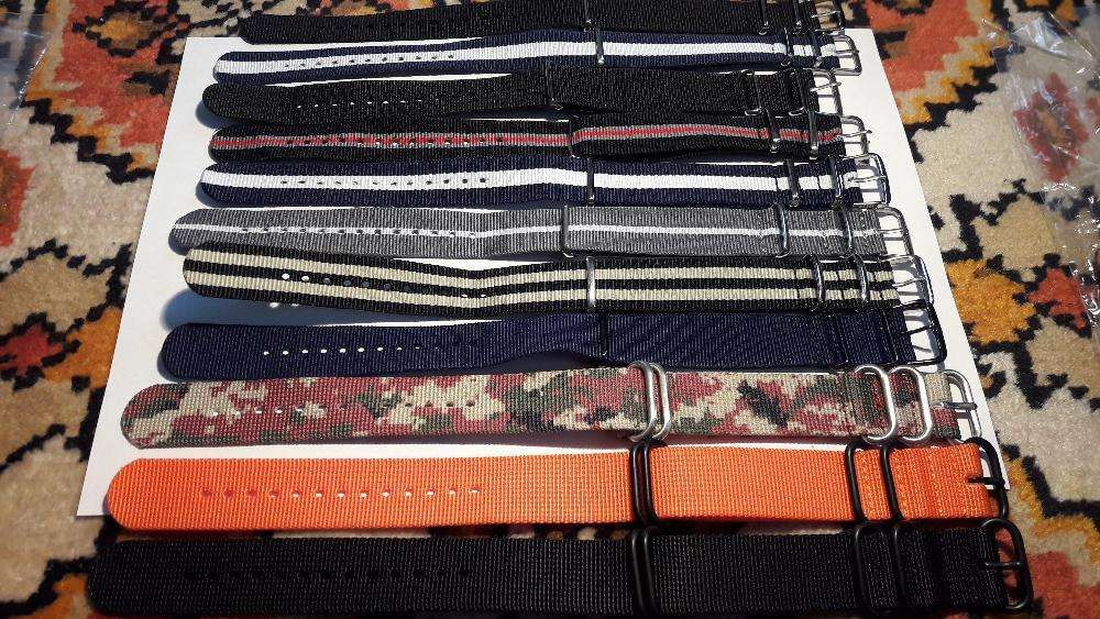 Ceas - curea textil NATO