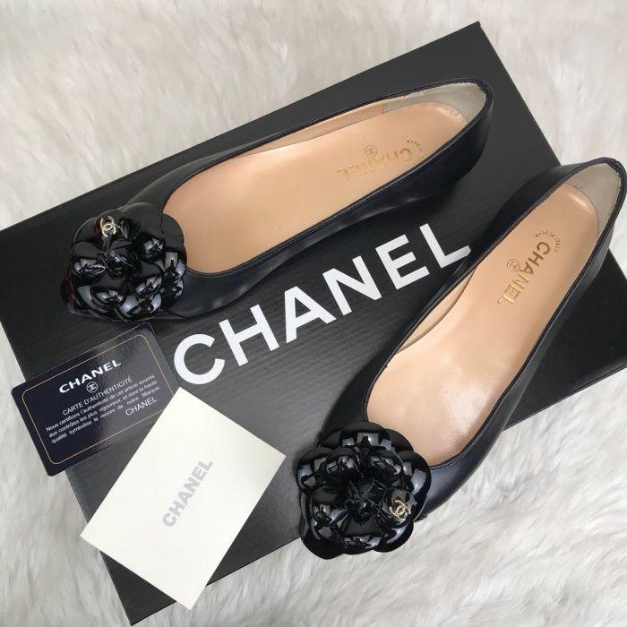 Balerini Chanel/piele naturală 100%/calitate superiora