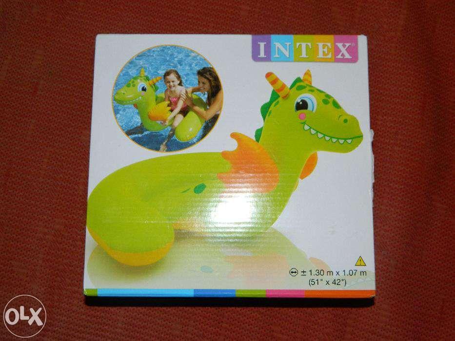Figurina gonflabila mare Dino, pentru copii, 1,30x1,07m, noua,sigilata