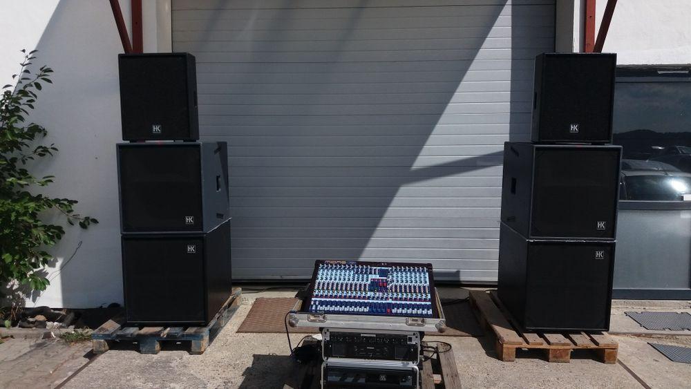 sistem xa2 HK Audio R serie Live ( RCF, FBT Dynacord, Meyer soud )