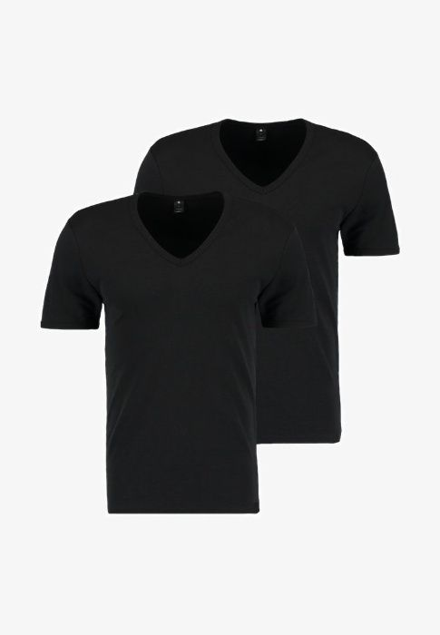 NOU-Tricouri originale G-Star cu guler V toate culorile