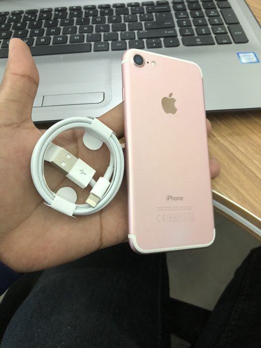 IPhone 7 128Gb Rose Gold novo com cabo