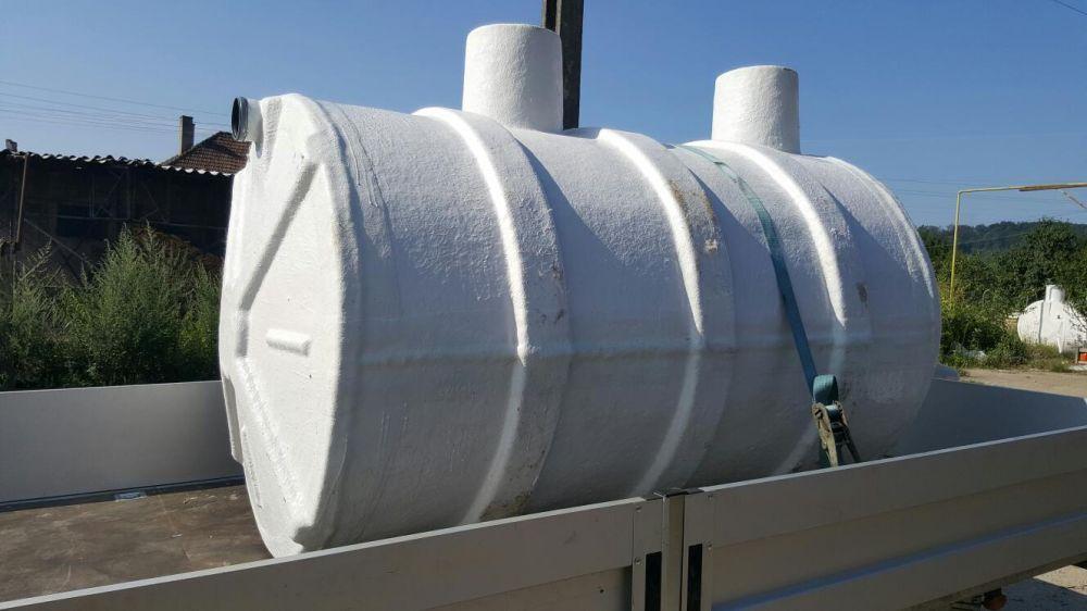 Fose septice ecologice,bazine din fibra de sticla