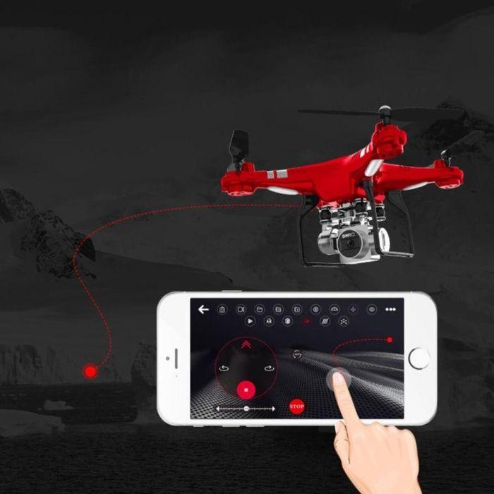 Квадрокоптер/Дрон SH5HD с Камерой и с WiFi