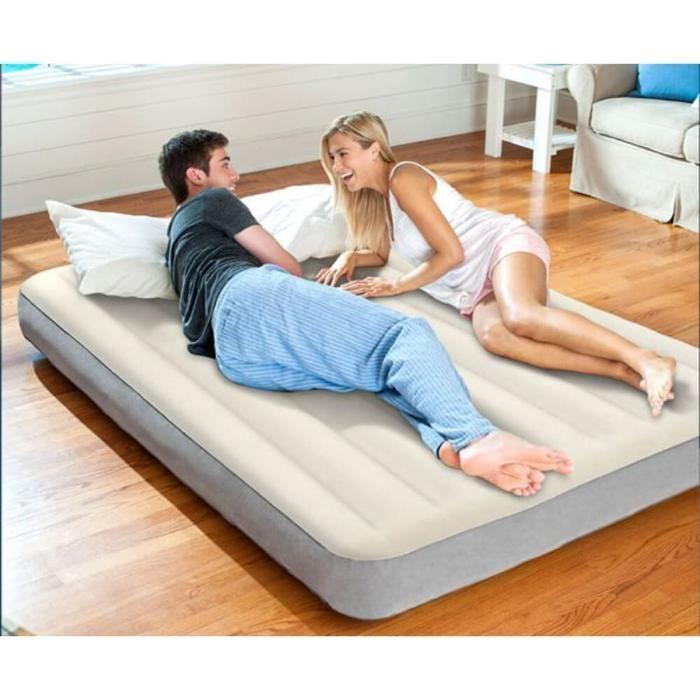 Двуспальный надувной матрас для сна 152х203х25см, Intex 64709 / 64103