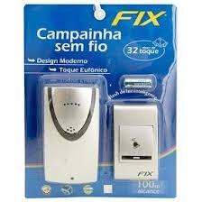 Campainha Wireless (sem fio) 100Metros