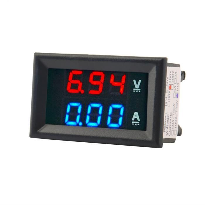 Вольт-Амперметр цифровой до 30v и 10А.