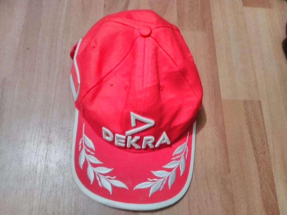 Sapca originala de la mama ei-Dekra Ferrari-Michael Schumacher 300 lei