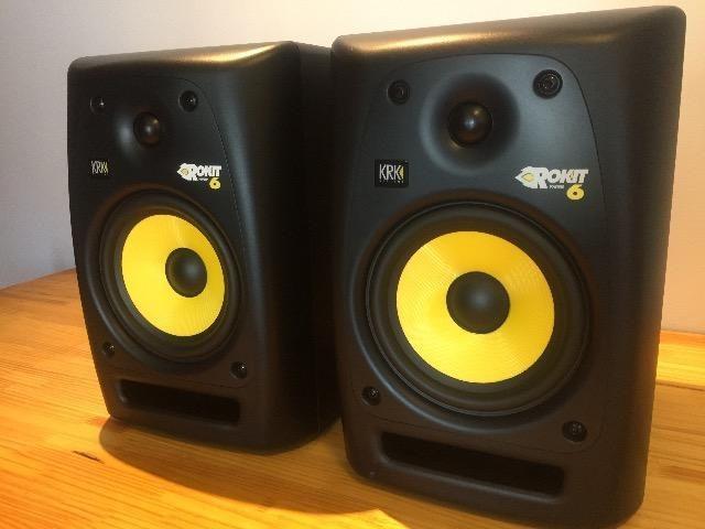 Monitores para estúdio KrK