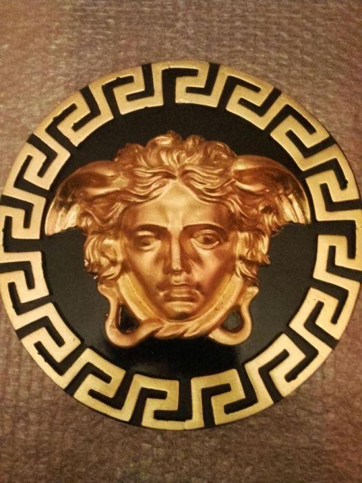 Versace Aplica Decorari interioare Basorelief Blazon Stucaturi ghips