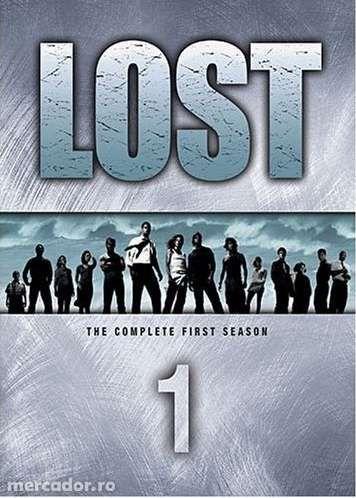 Vand colectie DVD serial LOST: sezoanele 1-4. Originale!