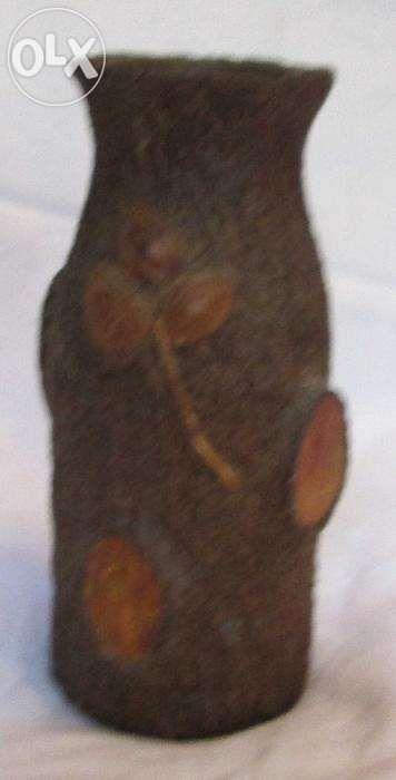 Piesa de artizanat, unicat, Vaza imitatie trunchi de copac