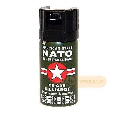 Spray autoaparare paralizant NATO cod210