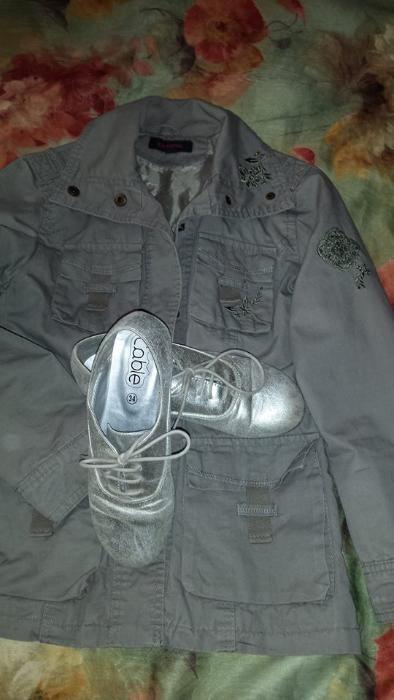 Детско пролетно яке и обувки