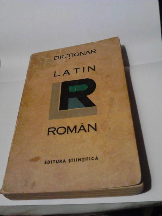 dicționar latin - roman, 1966 Iasi - imagine 1