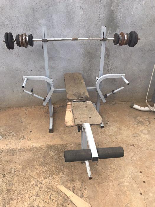 Cama de ginásio