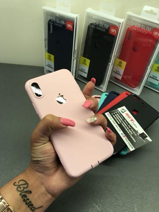 Силиконов кейс Iphone 6/6S 7/8 7/8 Plus Iphone X