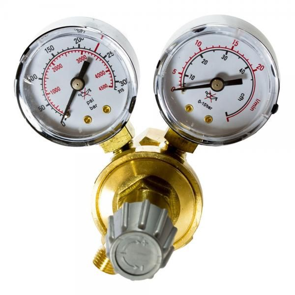 Reductor presiune AR/CO2 cu 2 manometre Intensiv 54051