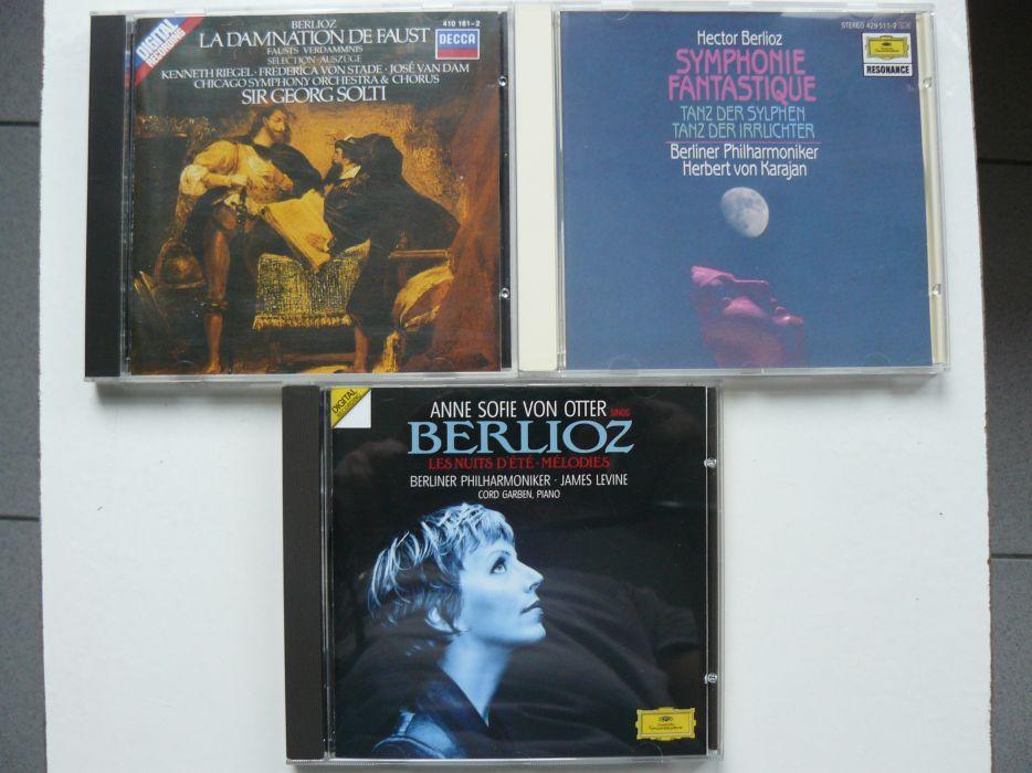 """CD-URI """"H. BERLIOZ"""" 3 Bucati,Originale,Raritati De Colectie,Impecabil"""