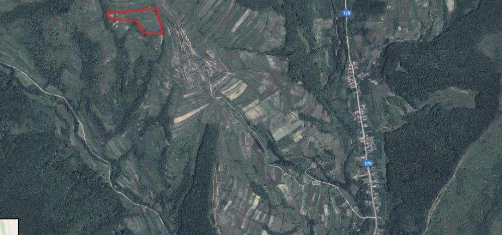 Vanzare  terenuri agricol Bistrita Nasaud, Negrilesti  - 5889 EURO