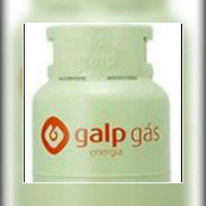 Botija de gas vazia