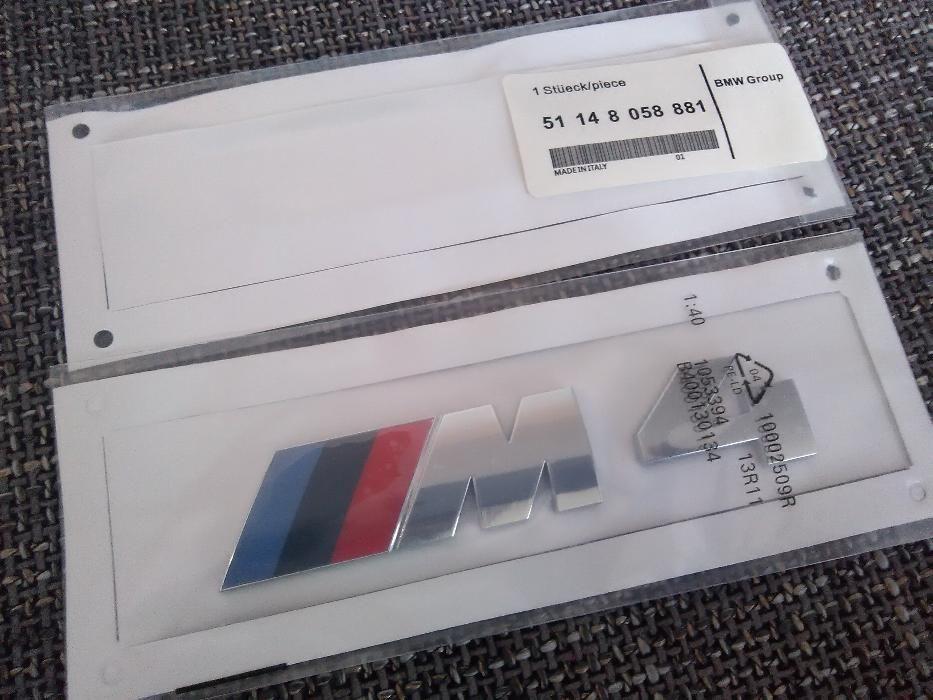 Emblema BMW M4 spate ABS