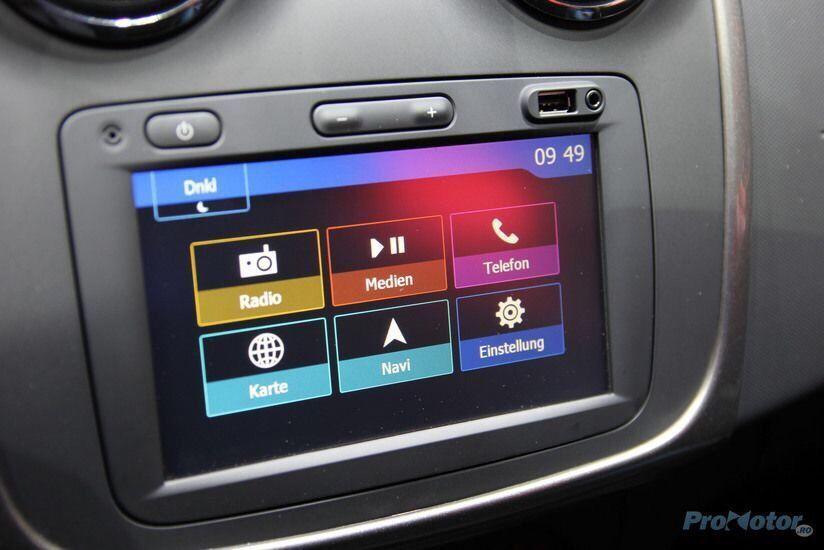 Reparatie extindere/update harti navigatie medianav GPS Dacia Duster