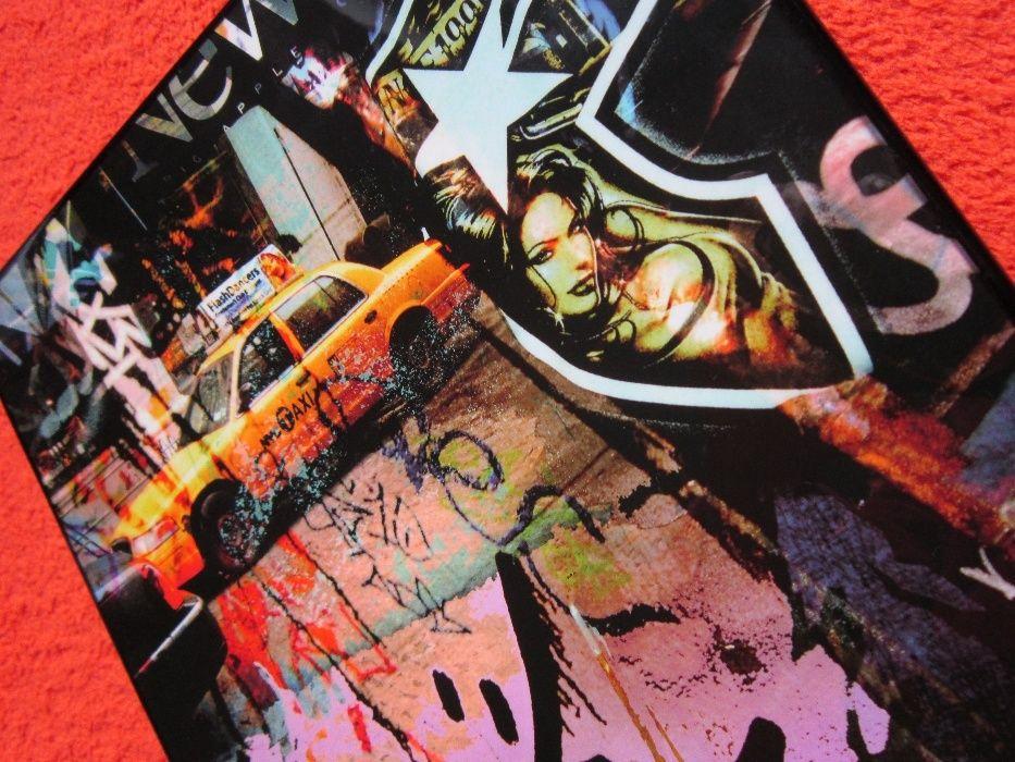 cadou inedit-arta contemporană Cedric Bouteiller -New York Taxi Driver