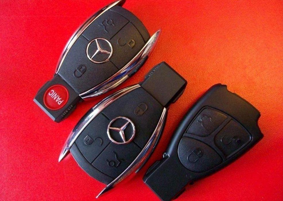 Ремонт электронных замков и ключей Mercedes