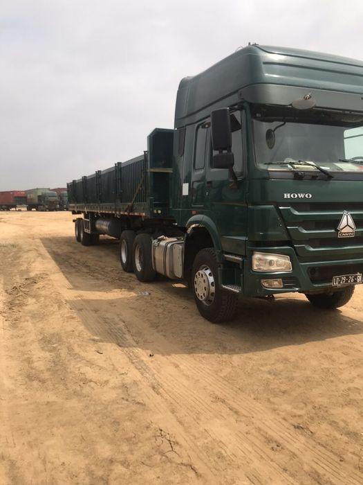 Vendo camiao Sinotruck 420 com trailer