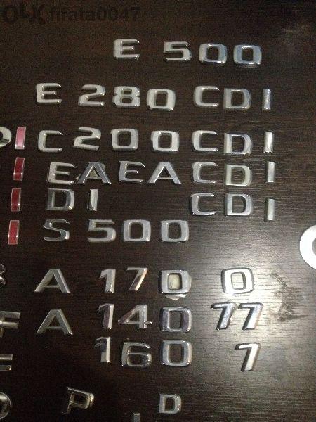 Букви,надписи.ц 220,е 270,с 500c 220,e270,s500,golf Tdi