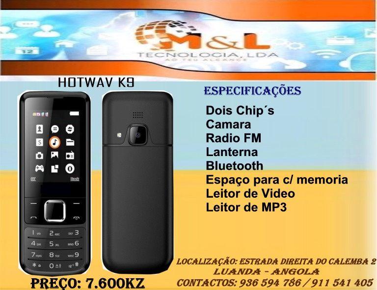 Telemovél Hotwav K9 Novo na caixa