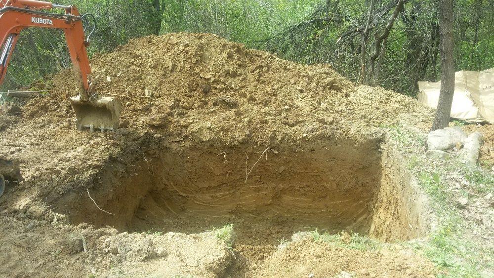 Изкопи с мини багер и транспортни услуги със самосвал до 3,5т гр. Велико Търново - image 3