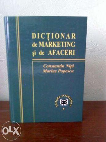 C. Nita Dictionar de marketing si de afaceri - 35 lei