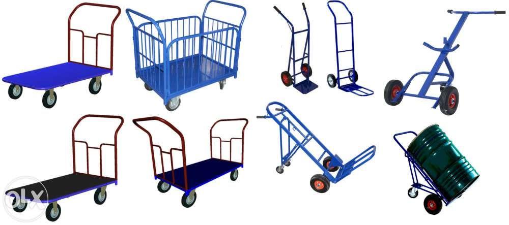 Платформенные, грузовые и гидравлические тележки в наличии и под заказ