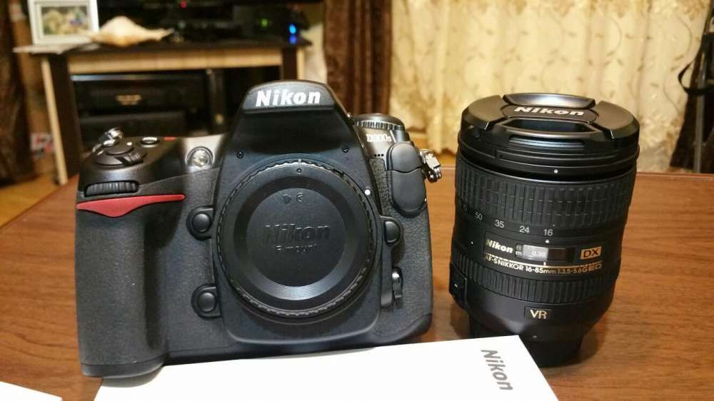 Nikon obiectiv 16-85 zero cadre NEW