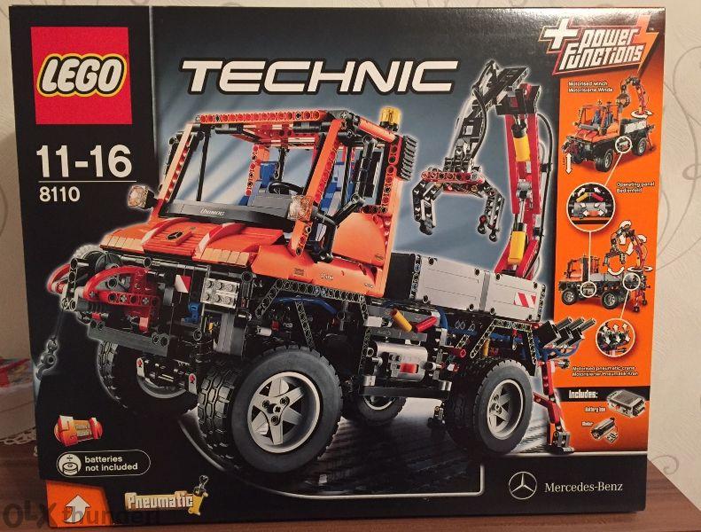 Ново Лего Техник 8110 - Камион Mercedes, Lego Technic Unimog U400