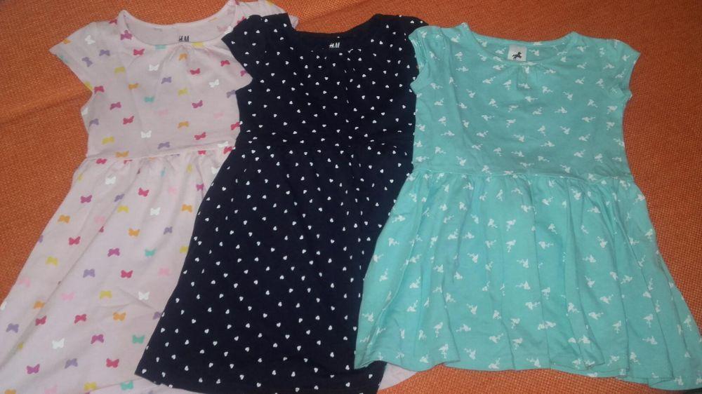 3 rochite H&M si C&A, 3-4 ani, ca noi!