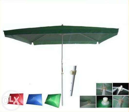 Червен , Зелен и син градински чадър ! Топ цена !