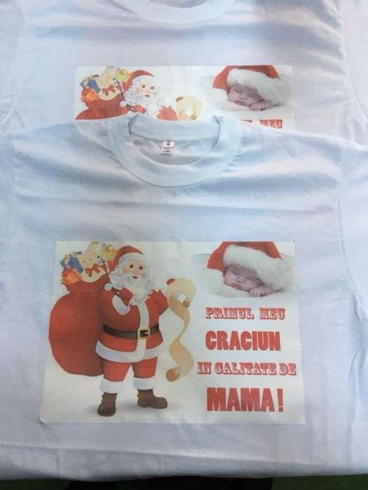 Tricou personalizat mesaje de sărbători